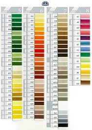Dmc Color Chart 2018 Printable Dmc Coton A Broder 25 Art 107 On Choosing Colors