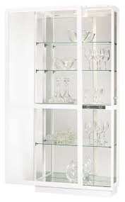 Curio Cabinets :: Contemporary Curio Cabinets :: Four Glass Shelf ...
