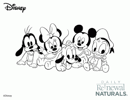 Disney Babies Coloring Page Coloring Home