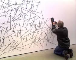 Sol Lewitt wall drawings - Dia Foundation Gallery, Beacon, NY. It looks like