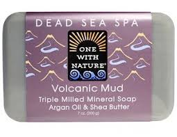 One With Nature <b>Triple Milled Mineral</b> Soap, Volcanic Mud ...