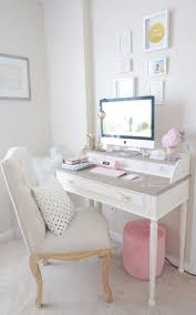 shabby chic office furniture. Best 20+ Pink Gold Office Ideas On Pinterest   Office, I\u0027m Really Excited To Share With You All My New Desk/desk Tour\u2026 Shabby Chic Furniture