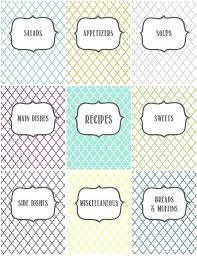 recipes cover page template. Simple Cover Recipe Binder By Gets Married Organize Your Recipes With These Pretty Cover  Pages Binders Template Free  In Recipes Cover Page Template I