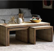 perfect delightful living room coffee tables best 25 nesting tables ideas on painted nesting