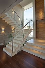 10 Cool Glass Staircase Designs. modern staircase glass railing