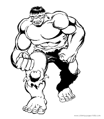 the hulk color page cartoon characters coloring pages color plate coloring sheet printable more free printable