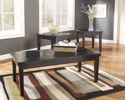ashley furniture t281 13 denja 3 piece coffee table set gl