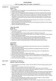 Paramedic Resume Cover Letter Paramedic Resume Samples Velvet Jobs 25