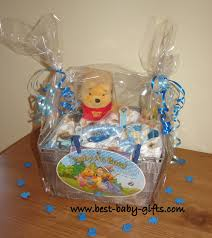 winnie the pooh themed baby gift basket