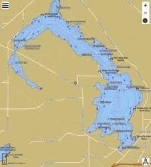 Beaver Dam Lake Fishing Map Us_ub_wi_01561480 Nautical