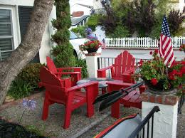 Outdoor Decorating Ideas For The Of July Porch Outdoors And