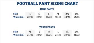 Kids Pants Size Chart Schutt Youth Football Pants Size Chart Pants Images And