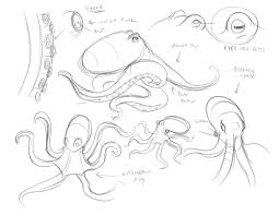 Small Picture octopus drawing tutorial Pesquisa Google Animal Drawing