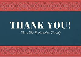 Thank You Cards Design Your Own Design Your Own Thank You Cards Online Razoom Info