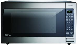 05 panasonic nn sn973s stainless 1250w 2 2 cu ft countertop microwave oven