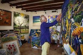 Art in the Tramuntana   Art in Majorca   Art in Mallorca   Alan Hydes Deiá