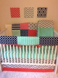 preppy baby bedding perfectly preppy crib bedding set