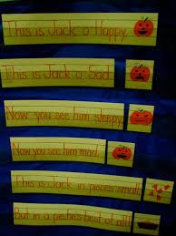 Pocket Chart Poems For Kindergarten Pumpkins Day 1 Kristens Kindergarten