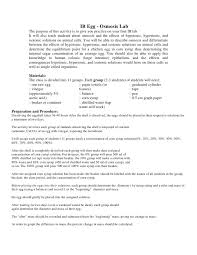 Diffusion And Osmosis Lab Report Osmosis And Diffusion Lab Report Class Set Lab Procedures