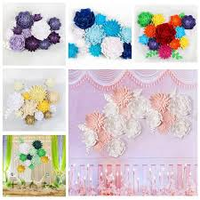 Paper Flower Diy Wedding 1pc Paper Flower Backdrop Wall 20cm Giant Flowers Diy Wedding Party