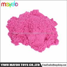diy educational kinetic sand toy magic space play sand