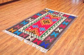 bohemian vintage turkish kilim rug area rug door mat wall hanging anatolian