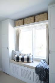 Bedroom Built In Closets Rambling Renovators Built In Bench Over Radiator Ikea Built In