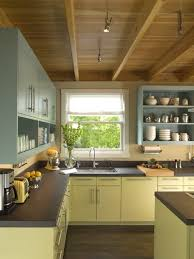You can use an air sprayer a handheld airless sprayer or aerosol cans to spray paint kitchen cabinets. How To Paint Laminate Kitchen Cabinets Eatwell101