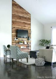 cheap decorating ideas for living room walls. burnt orange accent wall captivating rustic and budget living room makeover cheap decorating ideas for walls