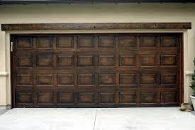 paint garage doorFaux Garage Doors