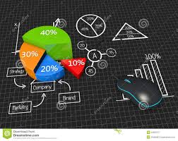 Business Charts And Graphs Business Graphs And Charts Stock Illustration Illustration