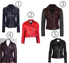 how to select leather jackets for your shape