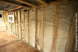 spray foam insulation cost. Spray Foam Insulation Cost Basement Wall Sprayed With Waterproof Closed Cell Per Square Foot Toronto