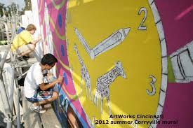 art works cincinnati through artworks cincinnati summer project talents bloom good