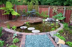 Small Picture Small Backyard Pond Designs Backyard Landscape Design