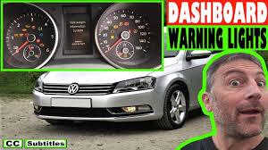 Volkswagen Passat Epc Warning Light Vw Passat Dashboard Warning Lights Overview