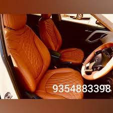 pu leather designer car seat cover rs