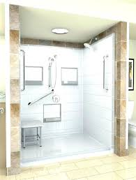 alcove shower kit clocks stand up shower kits one piece shower stalls shower stalls glamorous stand alcove shower