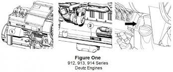 tech tip 199 deutz engine serial number location made easy foley figure one displayed below shows the three serial number locations on air cooled deutz 912 913 or 914 engines