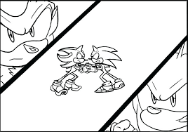 super shadow the hedgehog coloring pages sonic color page sonic coloring pages shadow super and sonic