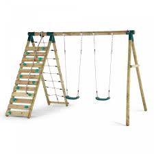 uakari wooden swing set