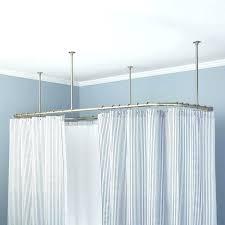 best shower curtain rod heavy duty shower curtain rod best shower curtains images on bathroom showers best shower curtain rod