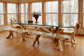 chic woodland creek furniture look other metro rustic dining room image ideas with branch table burl wood table cabin table custom sizes handmade table cabin furniture ideas