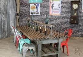 industrial restaurant furniture. Large Restaurant Table. Rustic Industrial Table Furniture I