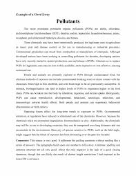 Example Of A Good Persuasive Essay Analyzing Sample Argumentative Essay The Introduction