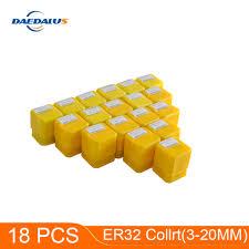 18pcs Collet Chuck Lathe Tool Holder ER32 Collet Chuck <b>ER</b> 32 ...