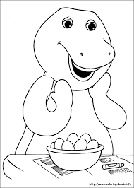 Small Picture Barney And Friends Coloring Pages On Coloring Book 18721