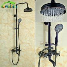 superb oil rubbed bronze shower handles rainfall head with handheld faucet moen bathroom fixtures s 2 handle bathroom faucet
