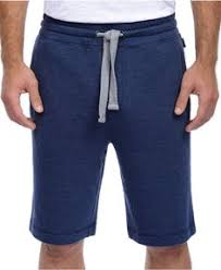 Twisted Soul Mens Grey & Navy Neppy Number Jogger Shorts, £16.99