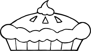 Small Picture Pumpkin pie coloring page clipart Clipartix
